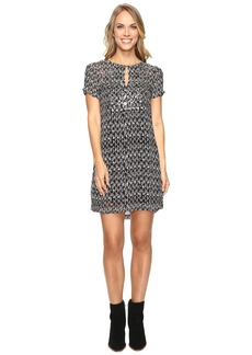 Lucky Brand Embellished Shift Dress