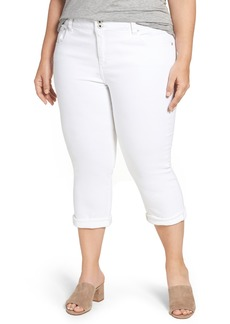 Lucky Brand Emma Stretch Crop Jeans (Plus Size)