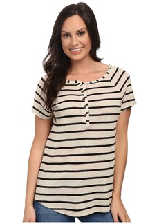 Lucky Brand Even Stripe Top