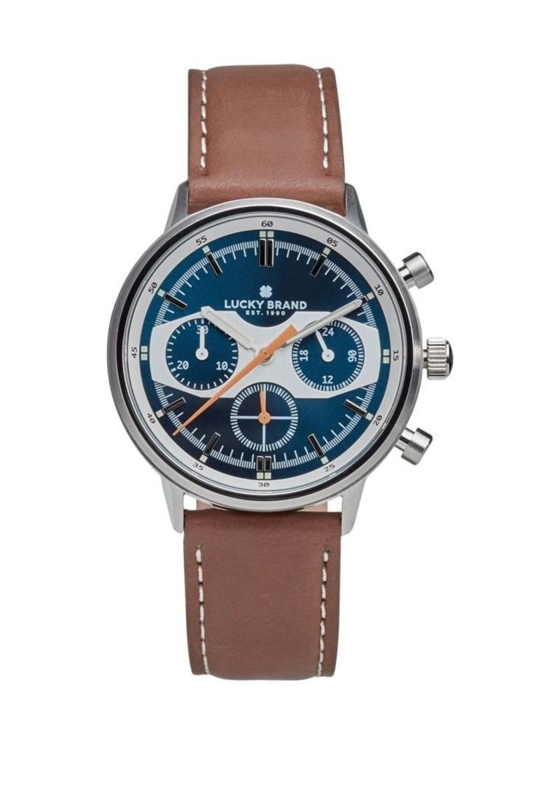 Lucky Brand Fairfax Racing Chronograph Watch