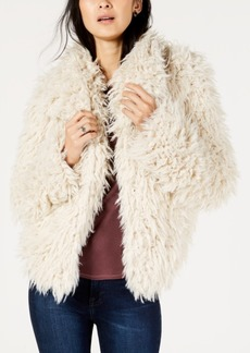 Lucky Brand Faux-Fur Coat
