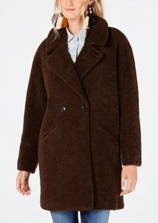 Lucky Brand Faux-Fur Teddy Coat