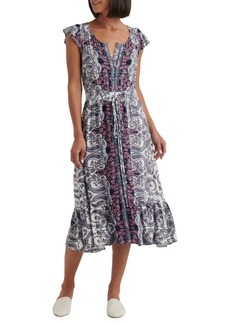 Lucky Brand Felicia Pailsey Dress