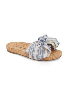 Lucky Brand Floella Bow Slide Sandal (Women)
