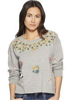 Lucky Brand Floral Gardens Sweatshirt