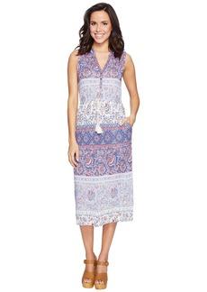 Lucky Brand Floral Mixed Print Dress