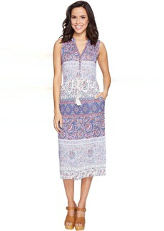 Lucky Brand Floral Mixed Print Dress