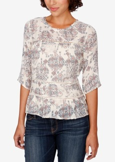 Lucky Brand Floral-Print Blouse