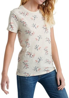 Lucky Brand Floral-Print Cotton Tee