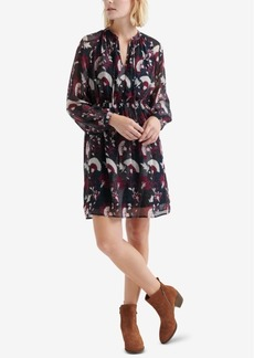 Lucky Brand Floral-Print Peasant Dress