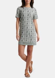 Lucky Brand Floral-Print Summer T-Shirt Dress