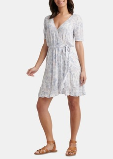 Lucky Brand Floral-Print Wrap Dress