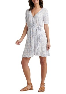 Lucky Brand Floral Sheath Wrap Dress
