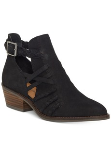 Lucky Brand Forbas Moto Booties Women's Shoes
