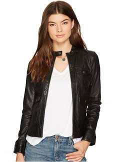 Lucky Brand Four-Pocket Scuba Jacket