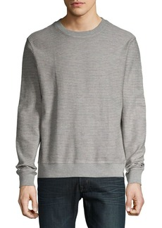 Lucky Brand French Terry Striped Sweatshirt