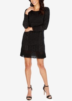Lucky Brand Fringe Sweater Dress