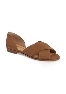 Lucky Brand Gallah Crisscross Flat Sandal (Women)