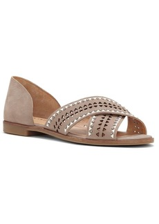Lucky Brand Gallah Leather Slide Sandals