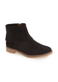 Lucky Brand 'Galley' Fringe Collar Bootie (Women)