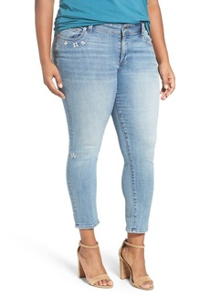 Lucky Brand 'Georgia' Distressed Boyfriend Jeans (Ocean Side) (Plus Size)