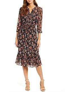 Lucky Brand Georgia Floral Dress