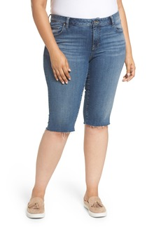 Lucky Brand Ginger Bermuda Shorts (Plus Size)