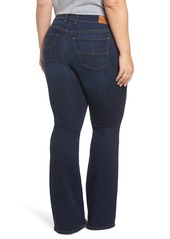 3ad73419b36 ... Lucky Brand Ginger Bootcut Jeans (Twilight Blue) (Petite Plus   Plus  Size)