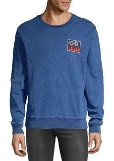 Lucky Brand Go West Patch Sweatshirt