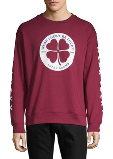 Lucky Brand Graphic Long-Sleeve Sweatshirt