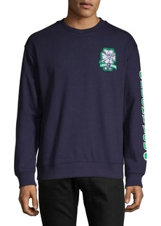Lucky Brand Graphic Long-Sleeve Sweatshirt