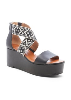 Lucky Brand Gwindolin Platform Wedge Sandal (Women)