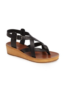 Lucky Brand Hadinas Wedge Sandal (Women)