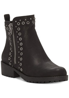 Lucky Brand Hannie Grommet-Studded Booties Women's Shoes