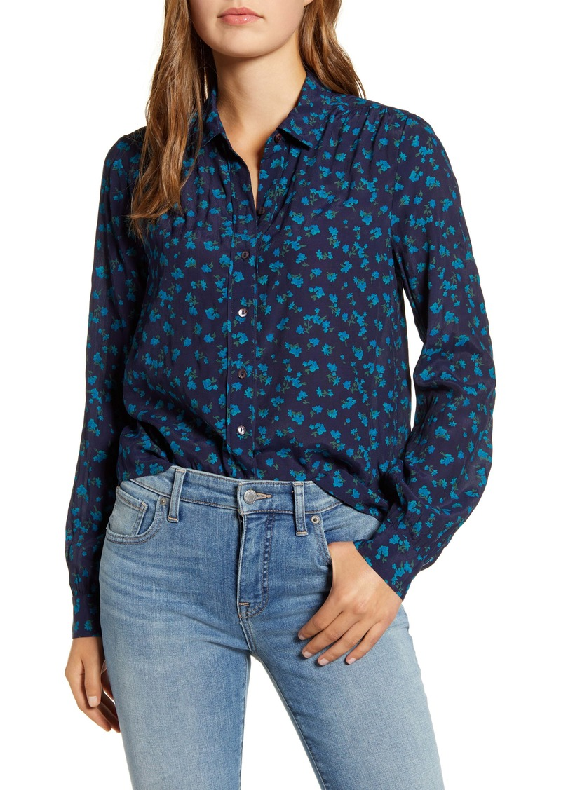 Lucky Brand Harlowe Floral Button-Up Shirt
