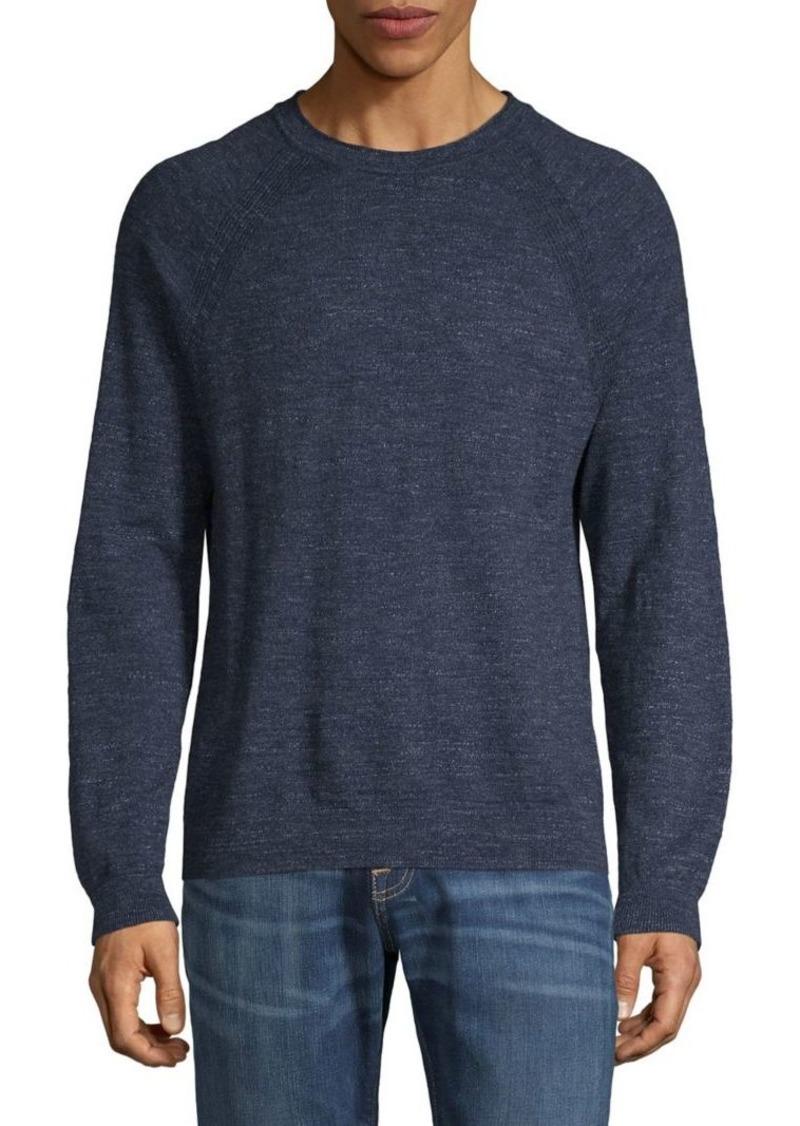 Lucky Brand Heathered Crewneck Sweatshirt