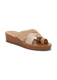 Lucky Brand Heliara Wedge Slide Sandal (Women)
