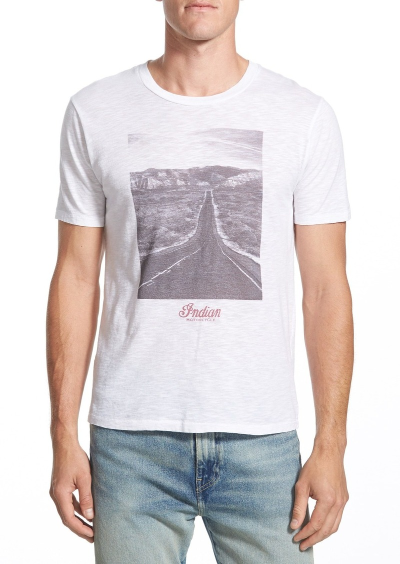 Lucky Brand 'Indian Motorcycles Road' Graphic T-Shirt