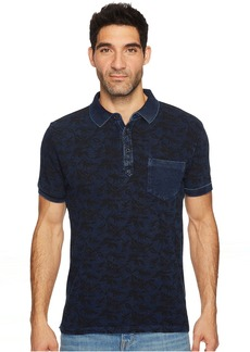 Lucky Brand Indigo Palm Polo Shirt