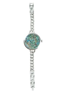 Lucky Brand Indio Stainless Steel Chain Bracelet Watch