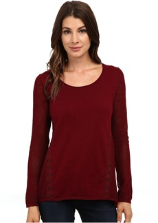 Lucky Brand Inset Lace Tunic