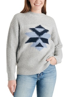Lucky Brand Intarsia Graphic Sweater