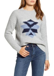 Lucky Brand Intarsia Snowflake Sweater