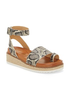 Lucky Brand Itolva Ankle Strap Espadrille Sandal (Women)