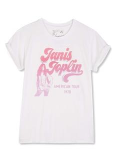 Lucky Brand Janis Joplin Graphic Tee