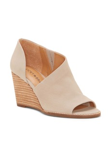 Lucky Brand Jaxy Open Toe Wedge (Women)