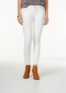 Lucky Brand Jeans Brooke Ankle Skinny White Wash Jeans
