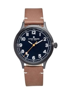Lucky Brand Jefferson Leather Watch