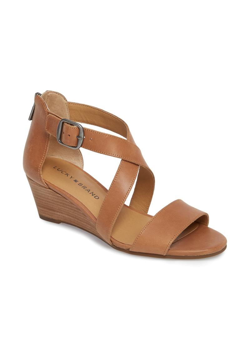Lucky Brand Jestah Wedge Sandal (Women)