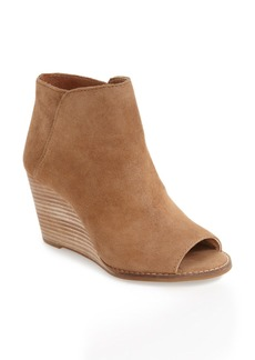 Lucky Brand 'Jezzah' Open Toe Bootie (Women)